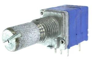 2 St. Drehpotentiometer mit Schalter RK0971S 15RE B10K