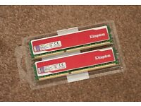 Kingston Red 2 x 4Gb DDR3 1333Mhz
