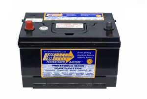 Car Battery  *** Terminals As Shown In Photo ***