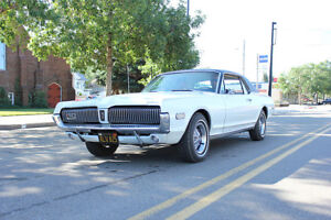 1968 COUGAR XR7---REDUCED PRICE