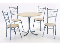 **NEW STRONG DINING TABLE AND 4 CHAIRS SET - FAST DELIVERY**