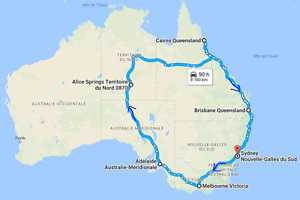 Offered : 1 seat in a van for a Roadtrip around Australia Sydney City Inner Sydney Preview