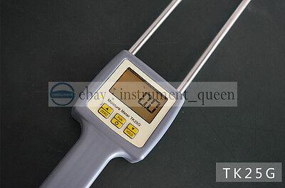 Toky Tk25g Grain Moisture Meter Tester 7-28 Measurement 25 Kinds Grain