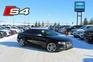 2014 Audi S4 3.0T 7Spd S-Tronic Progressiv Quattro| Sun| Nav| H
