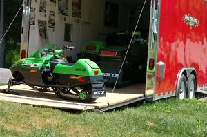 Now is the time to get the best deals. 1 BIG trailer and 4 Sleds