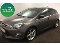 £162.64 PER MONTH 2011 FORD FOCUS 1.6 TITANIUM HATCHBACK 5 DOOR PETROL MANUAL