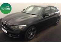 £218.85 PER MONTH BLACK 2012 BMW 120D 2.0 SPORT 5 DOOR DIESEL MANUAL