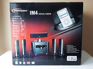 Paramax IM4 Digital Fusion home theater system
