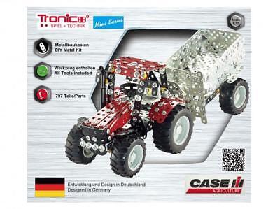 Tronico Mini Series Case IH Puma 230 CVX Traktor mit Kippanhänger 10074 ab 8 J.