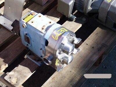 Waukesha Positive Displacemant Pump Size 30