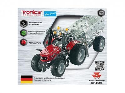 Tronico Mini Series Massey Ferguson MF-5610 Traktor mit Kippanhänger ab 8 Jahren