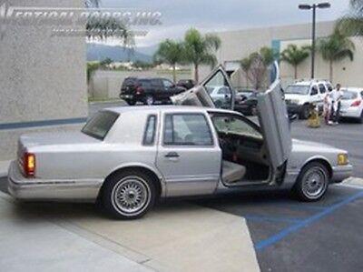 Lincoln Town Car 90-97 Lambo Style Vertical Doors VDI Bolt On Hinge Kit