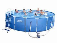 Bestway 18ft swimming pool with loads of bits****