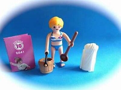 Playmobil Series 10 Mystery figure  Bathing Suit Beach Girl  with bucket NEW