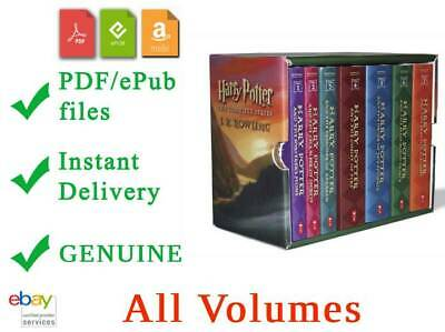 🔥Harry Potter Novel Series🔥By J. K. Rowling🔥Comple Collection✔️Original✔️