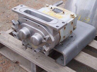 Waukesha Model 34 Hopper Feed Pump Ss Contact Tri Clamp