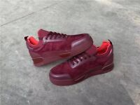 Wine red Christian Louboutin Aurelien Flat trainers