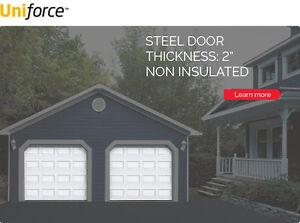 8 x 8 garage door