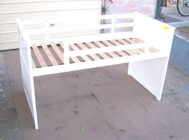 Elevated Single Bed With Safety Rails   Cots & Bedding   Gumtree ...