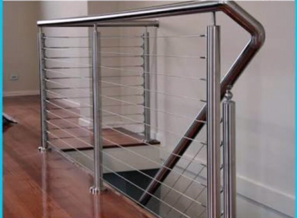 Handrail, Balustrade, Steel, Aluminium, Stainless Steel