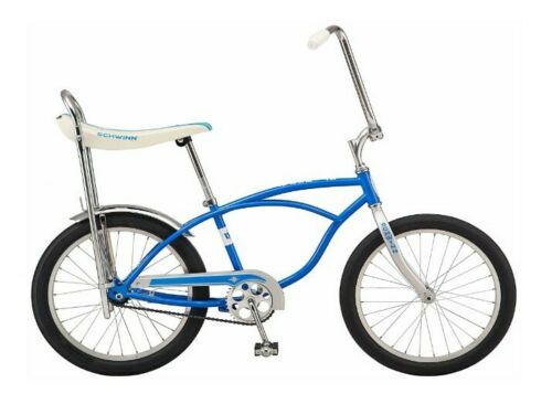 Classic Schwinn Blue Sting-Ray Banana Seat Bike NEW
