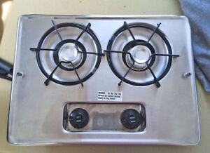 RV Camp Stove - Stainless Steel