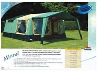 2003 Cabanon Mistral 8 Berth Trailer Tent