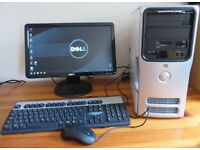 DELL PC + 20 inch monitor + keyboard & mouse