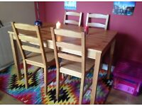 Table and Chairs Dining Set Glasgow