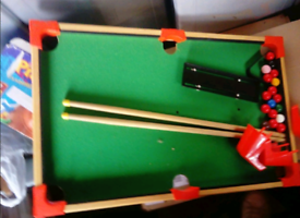 Mini Snooker Board