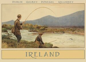 H And M Galway Address ... Ireland-Dublin-Galway-Killarney-Donegal-Vintage-Poster-Repro-FREE-S-H