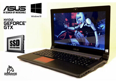 "ASUS GAMING LAPTOP 12GB RAM 240GB SSD NVIDIA GEFORCE 15.6"" screen"