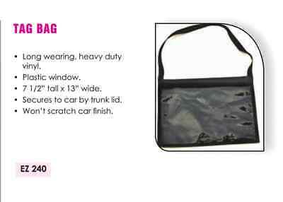 Car Dealer License Plate Holder Tag Bag set of 2, Automotive FREE SHIPPING