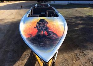 Outlaw Eliminator ski boat Guildford Hepburn Area Preview