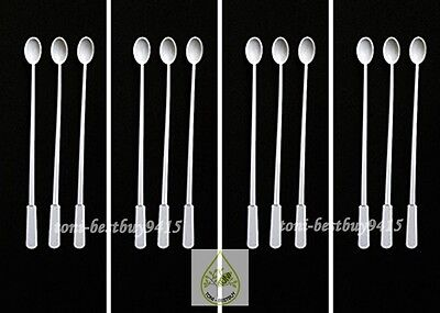 "12 pcs 5"" Micro Spoon for Feeder Food Guppy Tetra Killifish Fish & Small Fish"