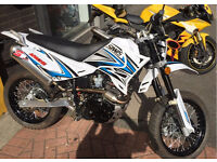 Sunnis apache 125 with £400 DEP exhaust! 2016