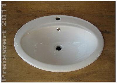 M032 Keramik Einbauwaschbecken Einbauwaschschale Waschbecken  Waschschale
