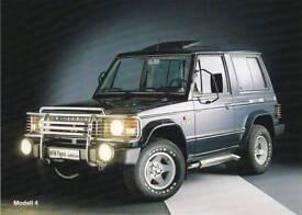 Wanted mk1 mitsubishi pajero shogun 1989 - 1992