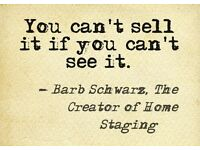 Home staging, de-cluttering, help to sell, rent property presentation!