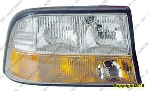 Head Light Passenger Side With Fog High Quality GMC Sonoma 1994-2004