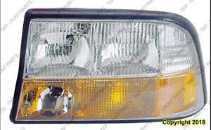Head Lamp Driver Side With Fog High Quality GMC Sonoma 1994-2004