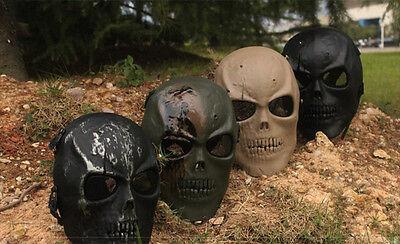 Airsoft Softair Paintball Maske Schutzmaske Mask Gotcha Skull Totenkopf Schädel