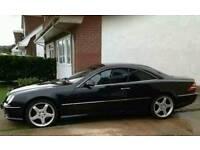 Mercedes cl55amg