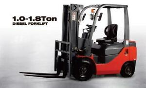 ***BOSS Forklifts*** - Financing Available - Inquire Today!