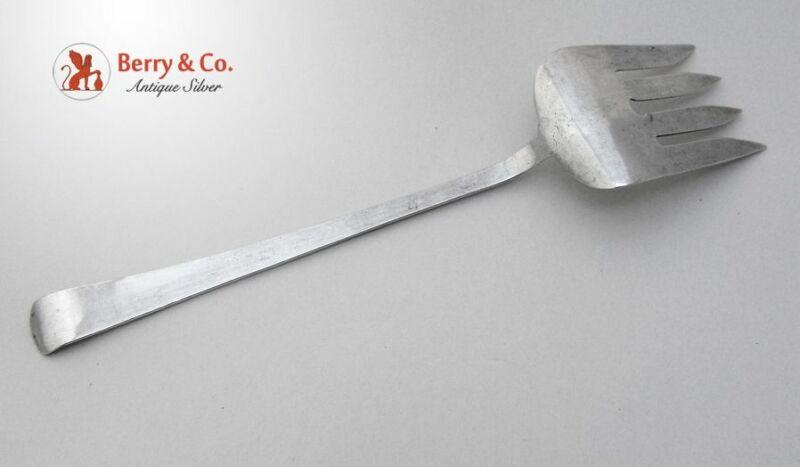 Navajo Serving Fork Sterling Silver 1940