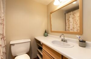 End unit with views of water and lowest strata in Whistler!