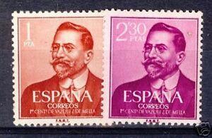 ESPANA-SPAIN-Edifil-1351-1352-MNH-Vazquez-Mella