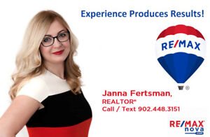 Janna Fertsman with RE/MAX nova - Moving Homes and Families