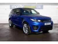 2016 Land Rover Range Rover Sport 5.0 V8 SC SVR 5dr Auto only 4000 miles and ...
