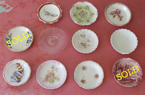 Antique & Vintage Butter Pats $3 ea or $20/9